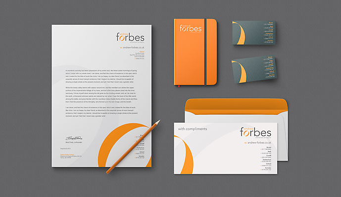 Andrew Forbes stationary designs