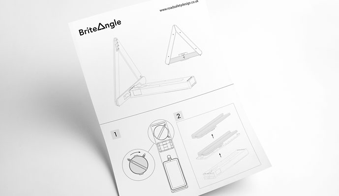Briteangle instruction design