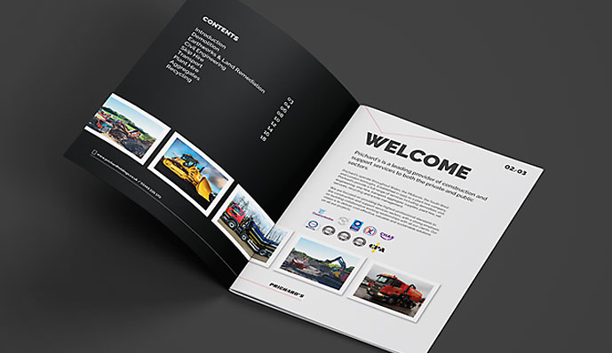 Pritchards Brochure Welcome Page