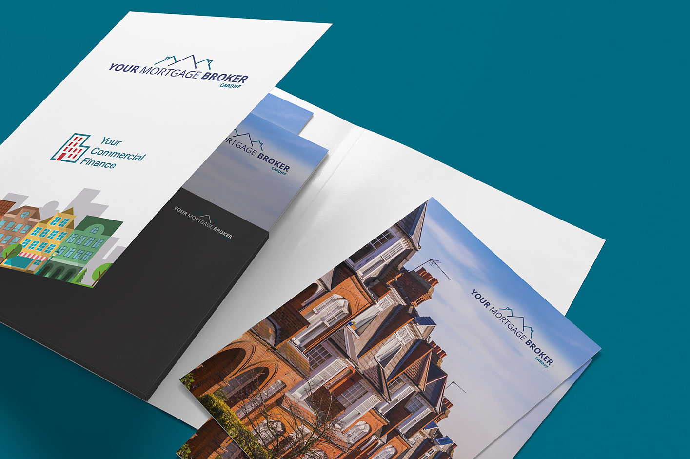 Your Mortgage Broker folder design