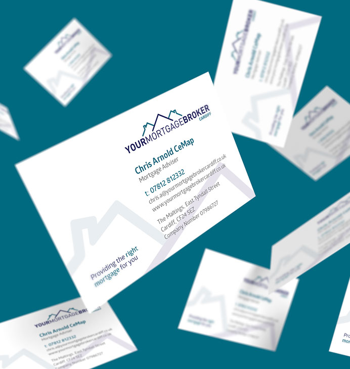 Your Mortgage Broker business card design