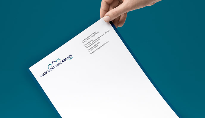 Your Mortgage Broker letterhead design
