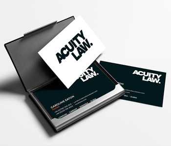 Acuity Business Cards