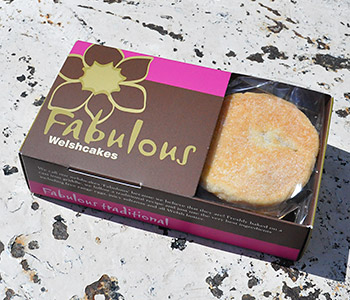 Fabulous Welshcakes packaging design